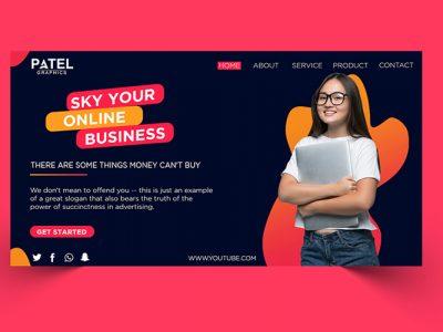 Social Media Banner Design In Photoshop Tutorial In Hindi