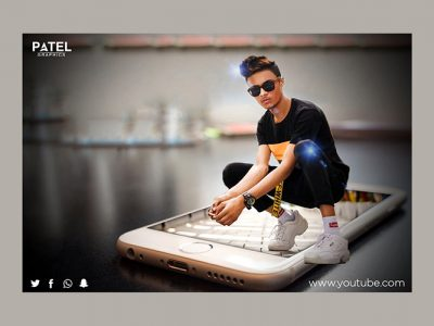 Learn 3D Photo Effect In Photoshop