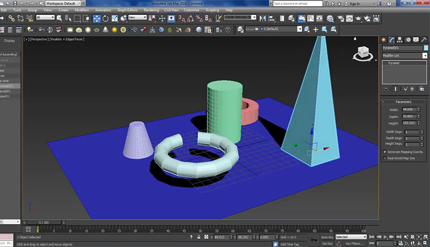 Online Course of 3ds Max